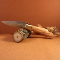 Manche olivier Couteau LAGUIOLE  CHASSE G.DAVID