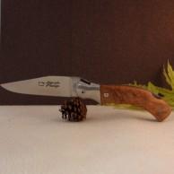 Manche olivier Couteau LAGUIOLE CHASSE LE ROUERGUE  AU SABOT