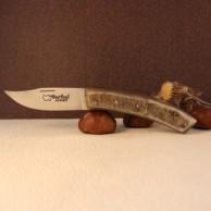 Manche corne de bélier Couteau BARIBAL AU SABOT