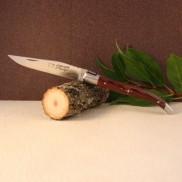 Manche bois de violette Couteau LAGUIOLE AU SABOT
