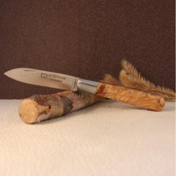 Couteau Le GARONNAIS Manche olivier AU SABOT