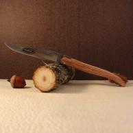 Couteau Laguiole par LE FIDELE plein manche chêne