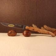 Couteau Laguiole par LE FIDELE plein manche genévrier