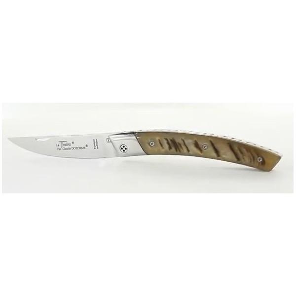 Manche corne de bélier Couteau LE THIERS RLT693 C.DOZORME