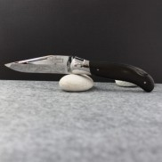 Manche ébène Couteau LAGUIOLE  CHASSE G.DAVID