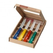 Coffret 4 couteaux office inox Opinel