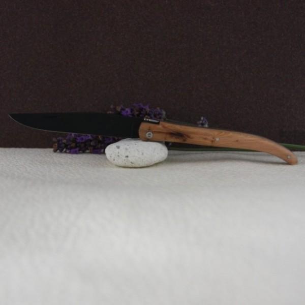 couteau laguiole au sabot gen vrier lame noire. Black Bedroom Furniture Sets. Home Design Ideas