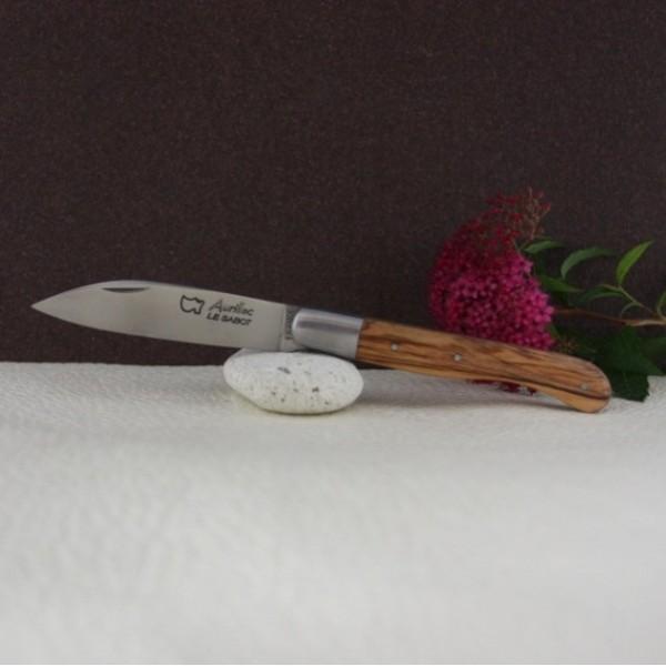 Couteau Aurillac manche olivier AU SABOT