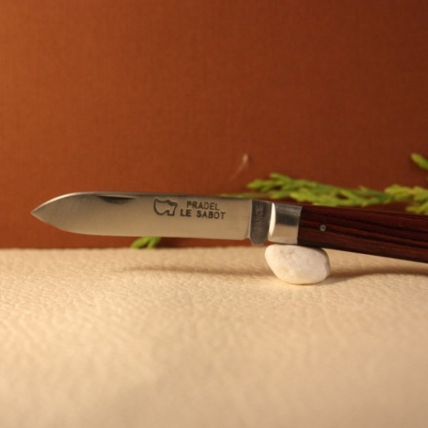 Couteau Le Pradel bois de violette  AU SABOT