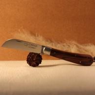 Couteau L'Armor manche bois de violette avec lien cuir AU SABOT