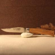 Couteau L'Alpin manche olivier  AU SABOT