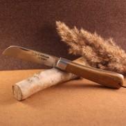 Couteau L'Armor manche teck avec lien cuir AU SABOT