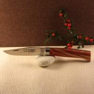 Couteau L'Alpin manche bois de rose AU SABOT