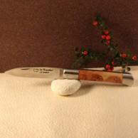 couteau roquefort genévrier ou olivier ou bois de rose ou ébène Au Sabot