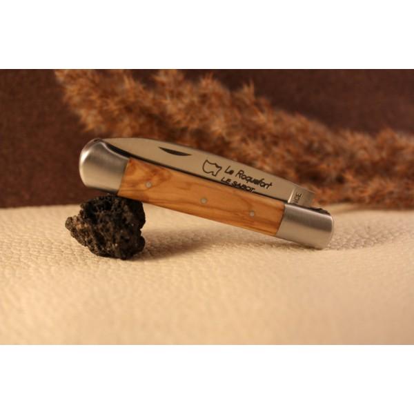 couteau roquefort manche olivier vente couteaux r gionaux roquefortl sur timeless spirit. Black Bedroom Furniture Sets. Home Design Ideas