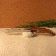 Couteau le Basque bois de serpent médaillon croix basque AU SABOT