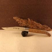 Couteau le Basque manche olivier AU SABOT