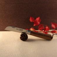 Couteau L'Armor manche palo santo avec lien cuir AU SABOT