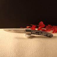 Couteau Le THIERS  AU SABOT manche décoration japonisant