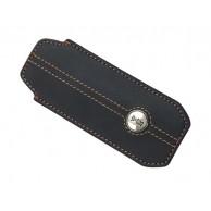 Etui Fourreau OPINEL, cuir synthétique marron, pour n° 6 et 7 et effilés 10 cm de manche.