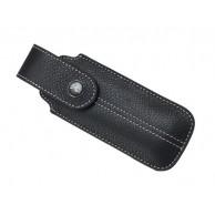 Etui OPINEL « Chic », cuir noir, pour n° 7, 8, 9 et effilés de 10/12 cm de manche