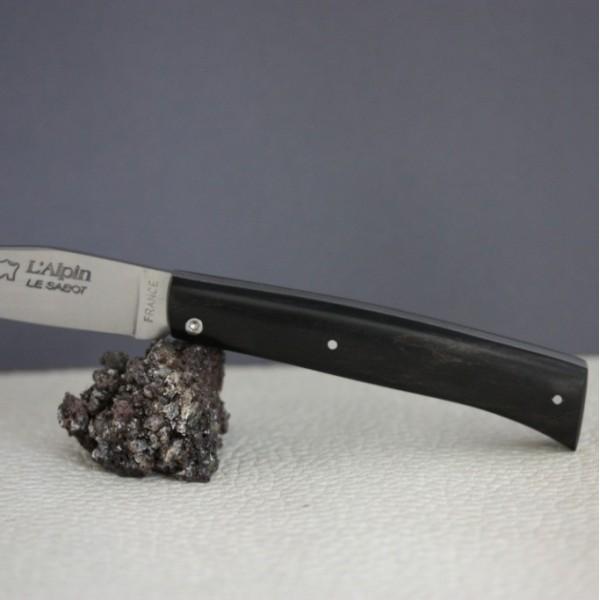 Couteau L'Alpin manche Ebène AU SABOT