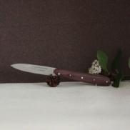 Couteau Rouennais 11cm manche Bois de Violette AU SABOT