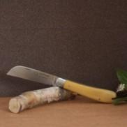 Couteau L'Armor manche buis avec lien cuir AU SABOT
