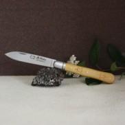 Couteau Le Violon Buis gravure AU SABOT
