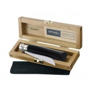 Couteau OPINEL n° 8 lame inox poli glace, manche 11 cm corne