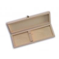Coffret cadeaux en bois pour 1 couteau dont le manche fait 11 ou 12cm