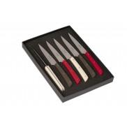 couteaux de table Epure manche composite coloris panaché AU SABOT
