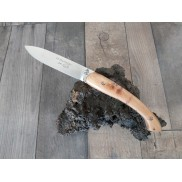 Couteau Le Filochard LOUIS CAU Manche Genévrier 10.5cm
